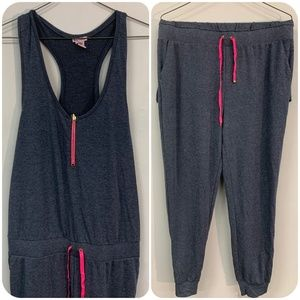 Juicy Couture Racerback Jumpsuit One  Piece Sweats